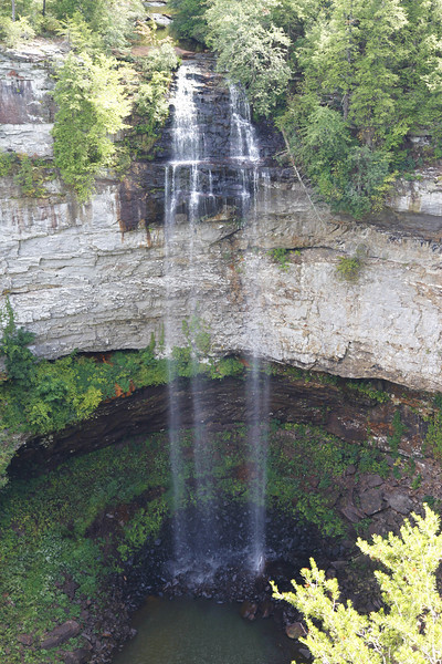 The falls at Falls Creek Falls State Park