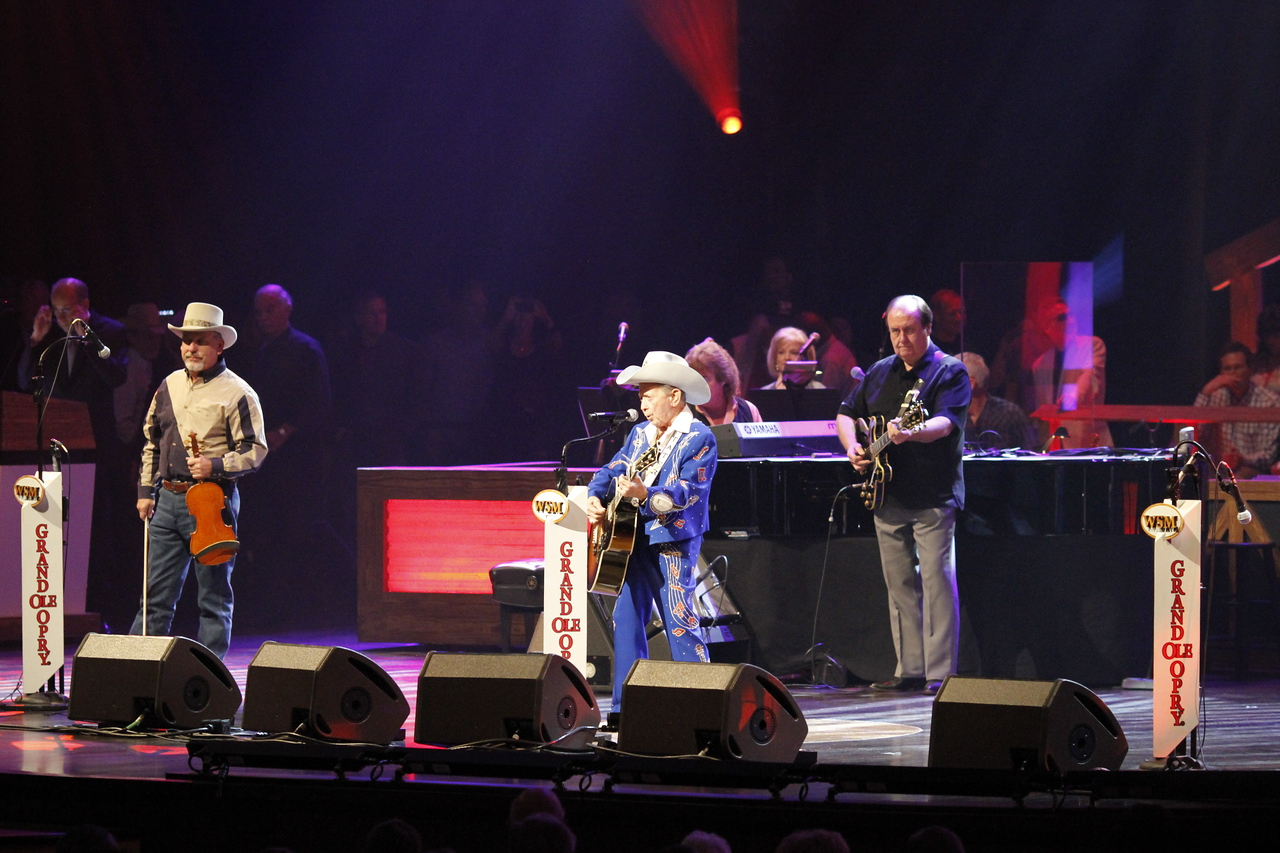 Little Jimmy Dickens at the Grand Ole Opry