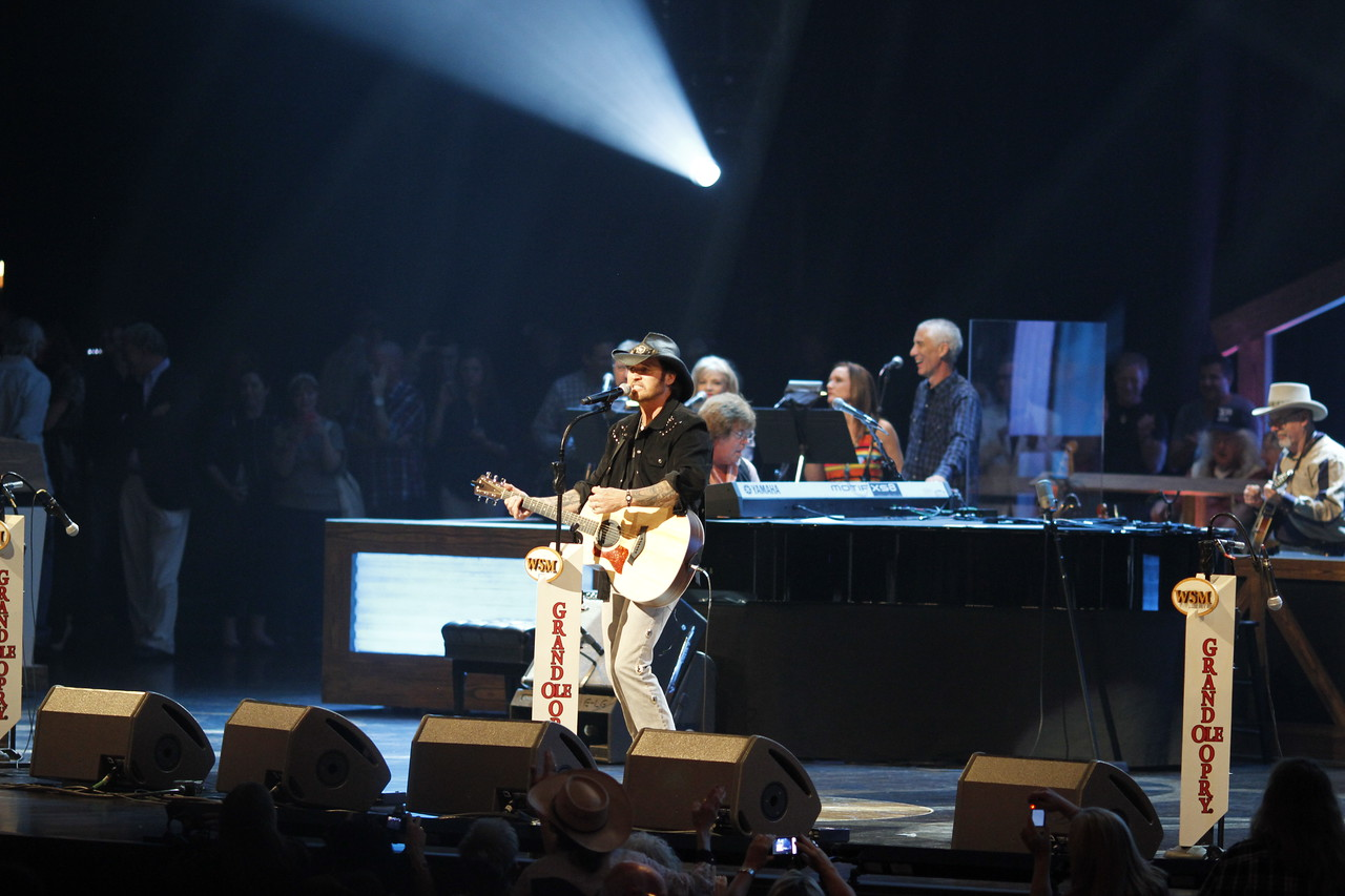 Billy Ray night at the Grand Ole Opry