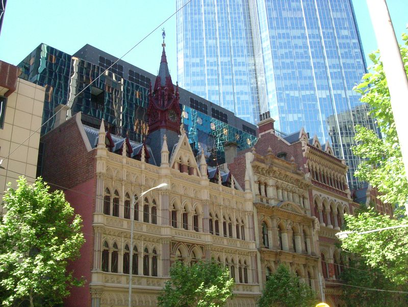 2004-11-12 Melbourne, Australia. Golden Mile Walk. I did this walk that takes you through the city center and some of the historical and noteworthy buildings there. The architecture was really nice.
