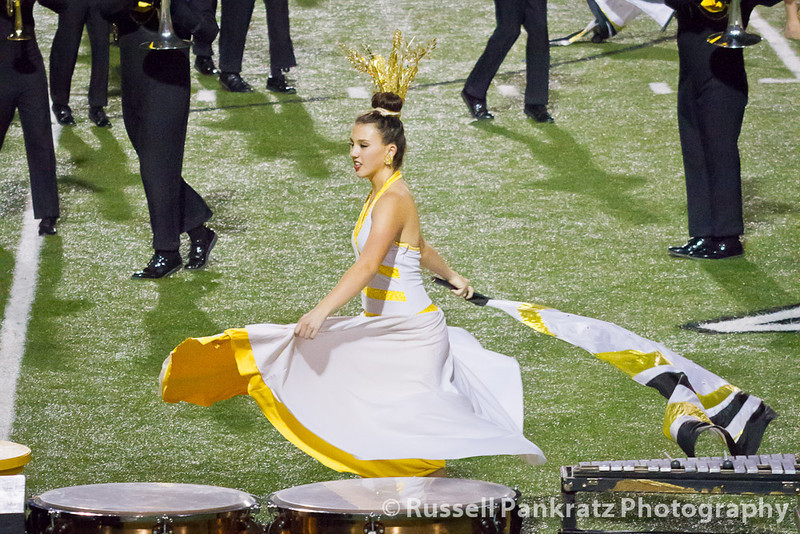 2012-10-23 UIL - Anderson Guard Captain-0610