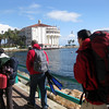 Going to dive center with guide, about 45 minutes after arrival to island. :)