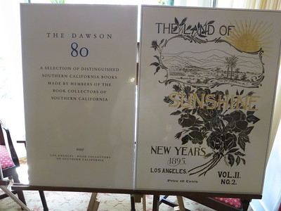 "Exhibits. ... Dedicated to Glen, ""The Dawson 80"" represents the eighty publications that best capture the history and spirit of Southern California up to 1920."