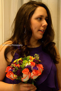 Lovely Brittany - sister of the bride, and maid of honor.