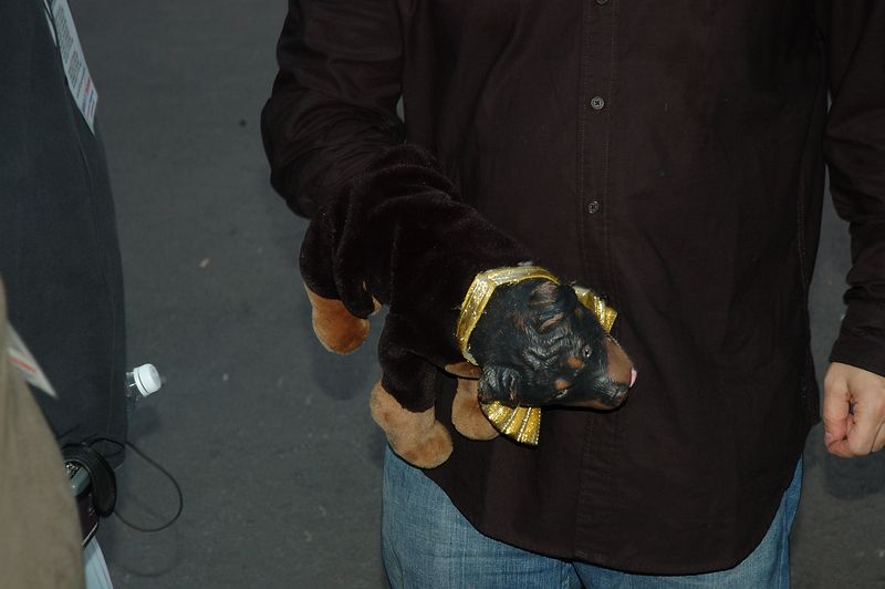 Triumph the Insult Comic Dog (from Late Night show)