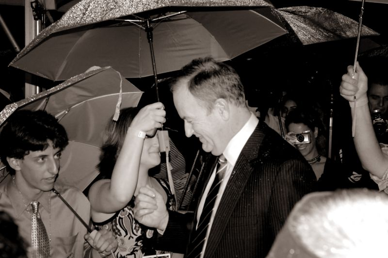 Picture of Celebs during the Louis Boston party in Boston (DNC 2004)<br/> Bill O'Reilly