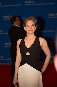 Actress Anna Chlumsky of 'Veep'  The White House Correspondents' Association celebrated its 100th anniversary as it once again hosted members of the press, the government and the entertainment world for its annual event at the Washington Hilton on May 3