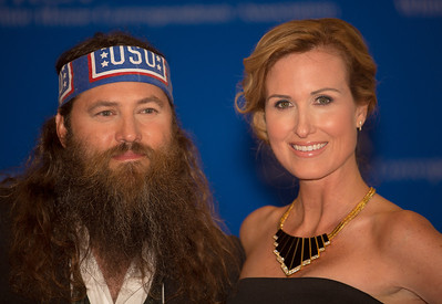 Willie Robertson and wife Korie of 'Duck Dynasty'  The White House Correspondents' Association celebrated its 100th anniversary as it once again hosted members of the press, the government and the entertainment world for its annual event at the Washington Hilton on May 3