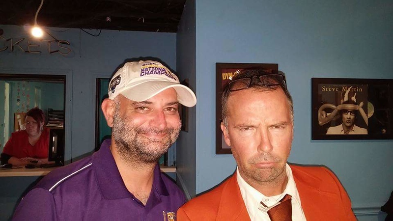 Doug Stanhope always happy for the meet and greet