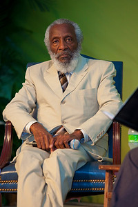 Dick Gregory at the Smithsonian Folklife Festival  (July 2, 2009)
