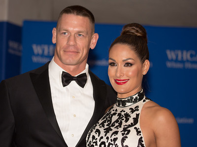 John Cena, Nikki Bella,  White House Correspondents Dinner