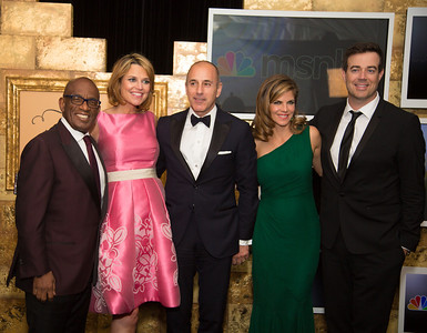Today Show: Al Roker, Savannah Guthrie, Matt Lauer, Natalie Morales, Carson Daly  The White House Correspondents' Association celebrated its 100th anniversary as it once again hosted members of the press, the government and the entertainment world for its annual event at the Washington Hilton on May 3