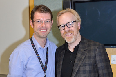 Mythbuster Adam Savage