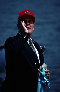 Willard Scott from the TODAY show on May 21, 1989 in Seattle, WA.