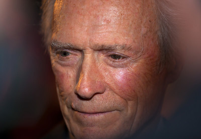At a special ceremony on Feb 1, 2012, marking the opening of the new Warner Bros. Theater at the National Museum of American History in Washington DC, the Smithsonian presented Clint Eastwood with the James Smithson Bicentennial Medal in honor of Eastwood's contribution to the American Experience through film.  (Photo by Jeff Malet)