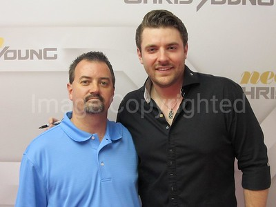 Me and Country Music artist Chris Young 8/18/11 at Rockingham County fair - 8/20/11