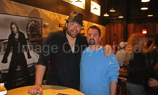 Me and Country Music artist James Otto at Cattle Annie's - 5/1/09