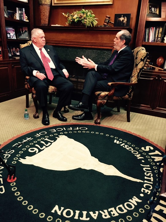 Bill NIgut interviews Ga House Speaker David Ralston