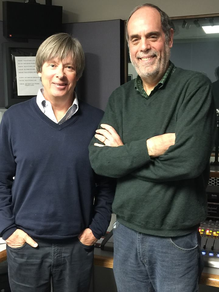 Author Dave Barry and Bill Nigut