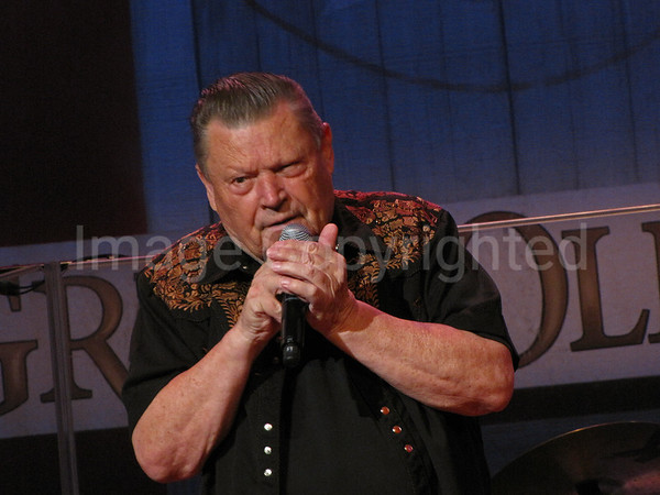 Country music artist Stonewall Jackson at 7/10/10 Grand Ole Opry - 8/10/10