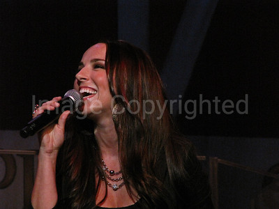 Country music artist Rebecca Lynn Howard at 7/10/10 Grand Ole Opry - 8/10/10