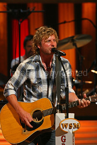 Country music artist Dierks Bentley 7/21/09 at Grand Ole Opry - 9/10/09