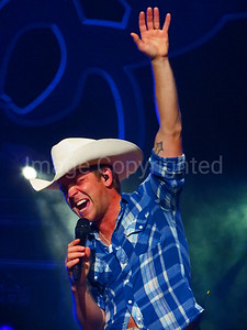 Country music artist Justin Moore 10/27/12 at JPJ Arena - 8/21/13