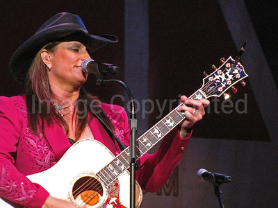 Country music artist Terri Clark at 7/10/10 Grand Ole Opry - 8/10/10