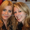 9268a Michelle Collins ( Calender Girls) with Emma, Cambridge Arts Theatre