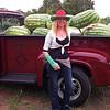 Charu on July 14, 2012, Watermelon Festival at McDade, TX