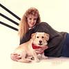 Charlene and Scottie in her senior years - 1990