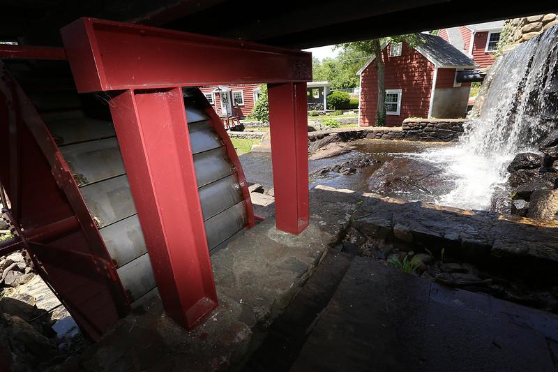 Historic Millstream Foundation's historic mill on Mill Road. (SUN/Julia Malakie)