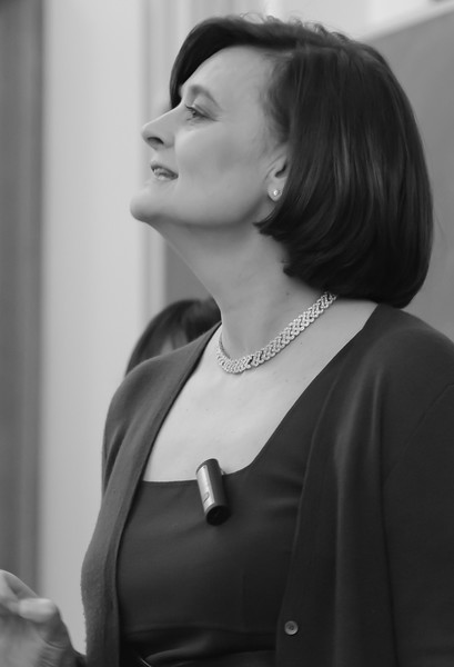 Cherie Blair at Kings College, London
