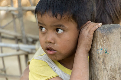 in a village, Myanma