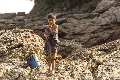 Moken child, Merqui Archipelago, Andaman Sea, Myanmar
