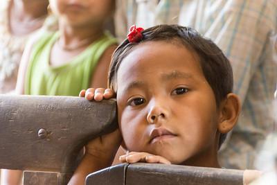 in a village, Myanmar