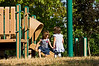 Tale of Two Sisters #2<br /> Sister number 2 arriving; number 1 leaving, temporarily.<br /> .<br /> Gallup Park, Ann Arbor, Michigan.<br /> July 29, 2012.<br /> (nex5n)