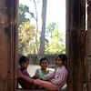Kids having fun together at Banteay Srei