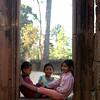 Kids having fun together at Banteay Srei
