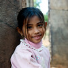 Sweet girl at Banteay Srei, always smiling.