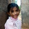 Sweet girl at Banteay Srei, always smiling.