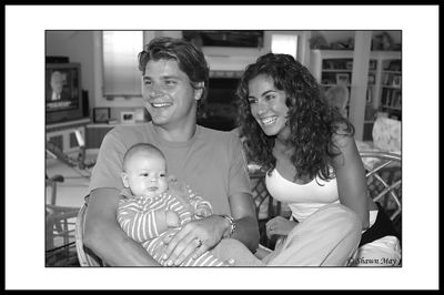 Fred & Oriana visited us in Avalon on Labor Day Weekend (04') and got to meet the little princess. We wish they could be around more often, had so much fun with them!!