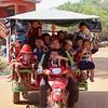 Schoolbus in Kambodia