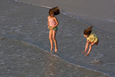 Jumping sisters