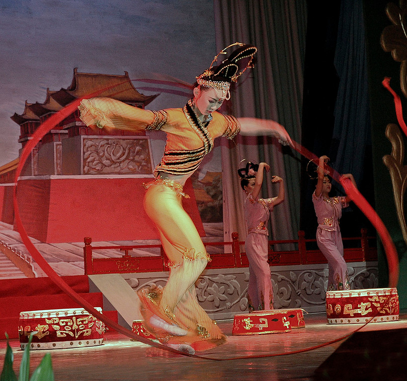 Xian Dancer<br /> <br /> ©Gerald Diamond<br /> All Rights Reserved