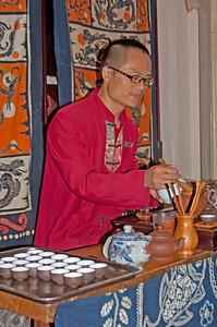 tea ceremony, China