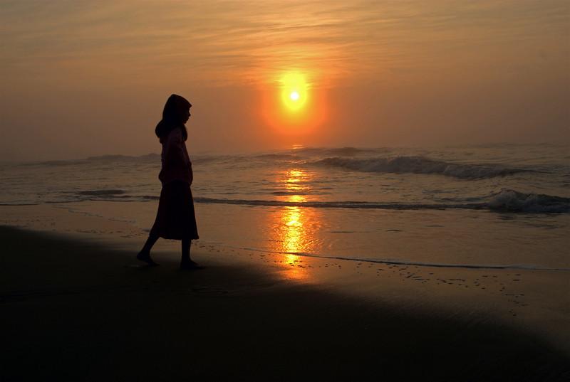 Sunrise, Assateague Island, VA. 2008.