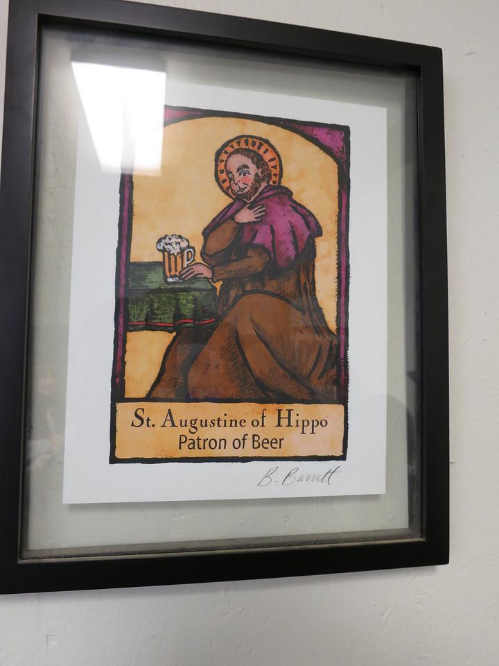 I always liked St Augustine. :)
