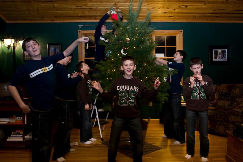 Christmas Tree Chaos