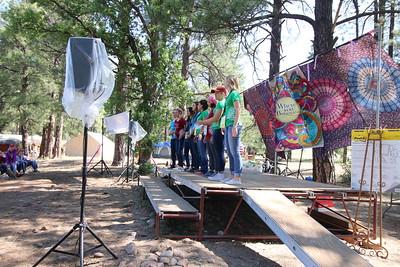 Birthdays at Girls Camp